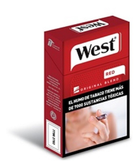 Cigarrillos West Box Pack 5 X 20 Mar Del Plata