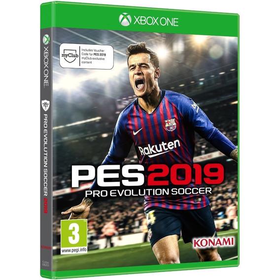 Jogo Pes 2019 Pro Evolution Xbox One Disco Físico Português