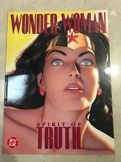 Wonder Woman Spirit Of Truth Dc Comics Alex Ross Paul Dini