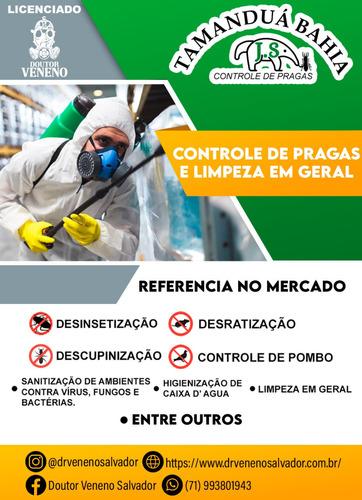 Imagem 1 de 4 de Tamanduá Bahia Controle De Pragas E Higienização Em Geral!