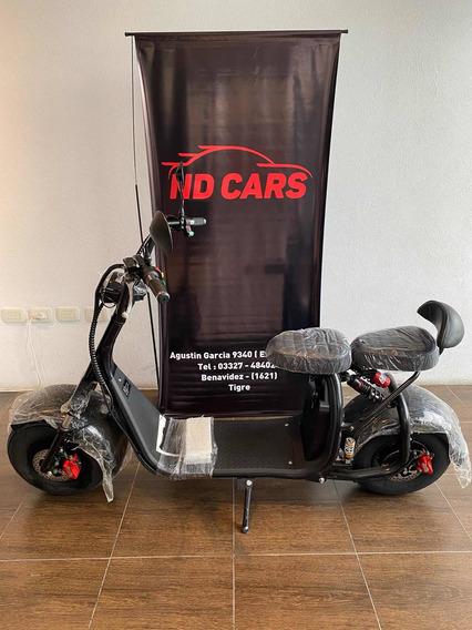 Moto Electrica Ibiza Chopper 1000wts