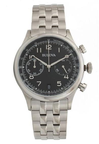 Relógio Bulova Masculino Wb22391t Prata
