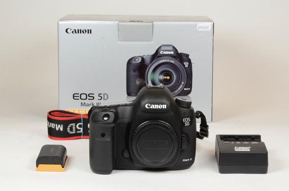 Canon Eos 5d Mark Iii Dslr (corpo) 10.372 Cliques - Na Caixa