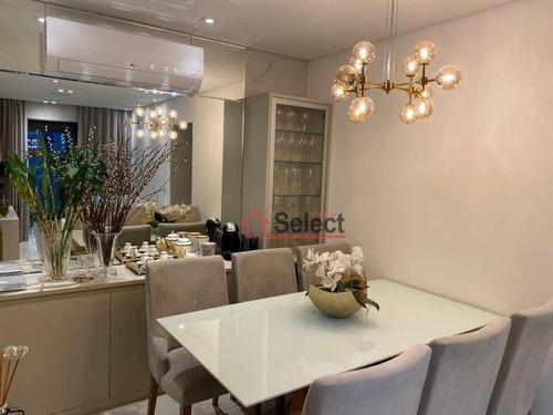Apartamento À Venda, 89 M² Por R$ 880.000,00 - Tatuapé - São Paulo/sp - Ap1409