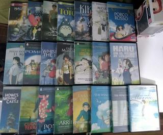 Colección Películas En Dvd Studio Ghibli