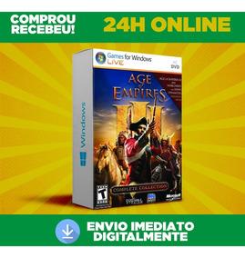 Age Of Empires 3 Todas As Expansões + Dublagem Envio 0segund