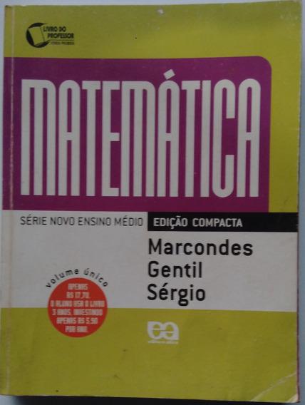 Livro Matemática Ensino Médio. Livro Do Professor