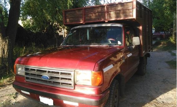 Camioneta Ford F 100 Con Caja Mudancera