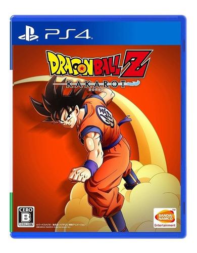 Imagen 1 de 8 de Juego Fisico Original Dragon Ball Z Kakarot Sony Ps4 Cuotas