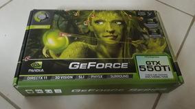 Geforce Gtx550ti 1gb Gddr5 2 Coolers