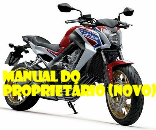 Manual Do Proprietário Honda Cb650f-fa 2015 (novo)
