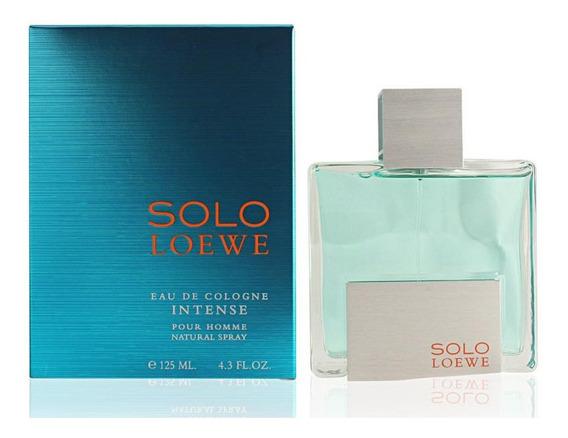 Solo Loewe Intense For Men Loewe 125ml Eau De Cologne