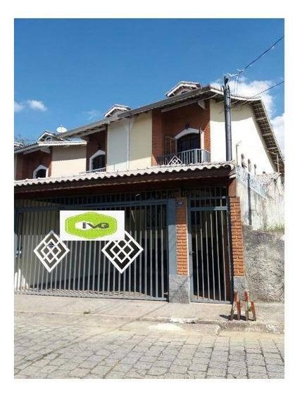 Sobrado Residencial À Venda, Jardim Leila, Guarulhos. - So0042