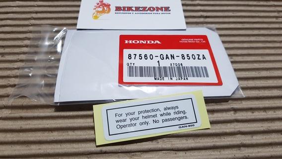 Calco Original Honda For Your Protection Xr