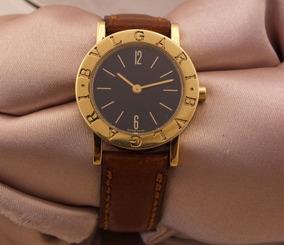 Relógio De Pulso Grife Bvlgari Feminino Em Ouro 18k J17306