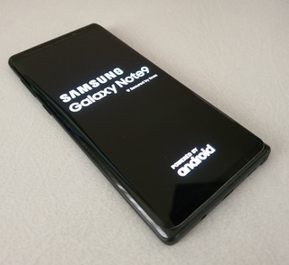 Galaxy Note 9 + Cover Original - Like New !!!