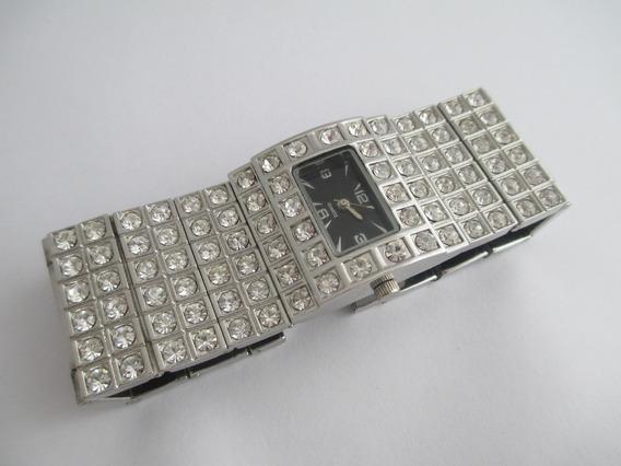 Vistoso Relógio Feminino - Quartz - Com Strass