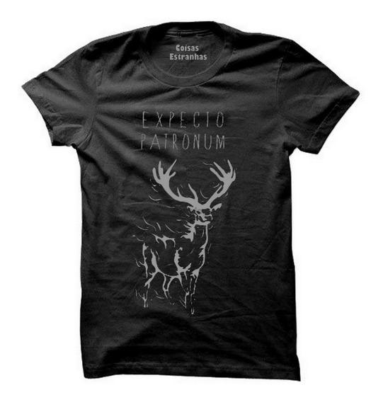 Camiseta,camisa Harry Potter Expecto Patronum Todos Tamanhos