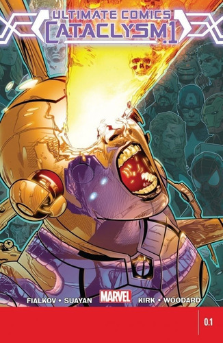 Cataclysm Ultimate Comics 12 Edições (2014) Marvel