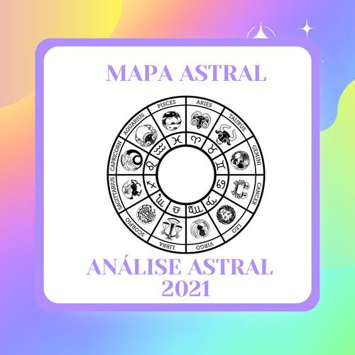 Mapa Astral Completo + Análise Astrológica 2021