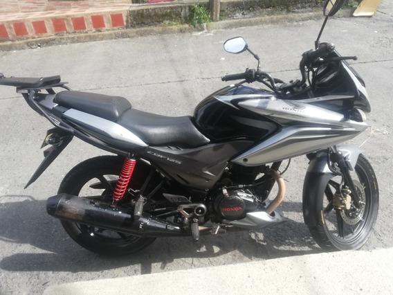 Honda Cbf125 Mod 2011 Negro/plata