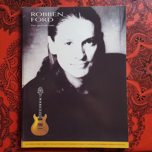 Libro De Partituras-robben Ford-for Guitar Tab-impecable