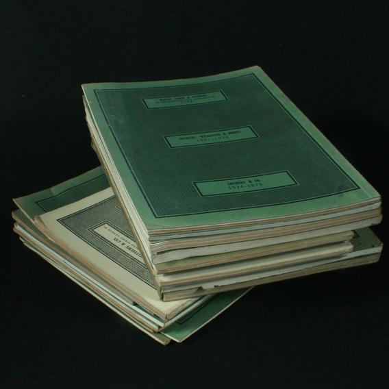 Coleção Com 20 Catálogos Da Casa De Leilões Sothebys