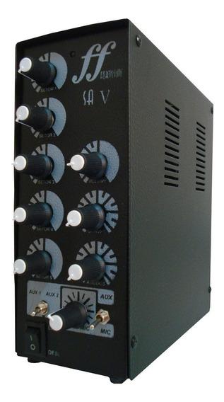 Amplificador E Setorizador De Caixa De Som Ambiente 5 Canais