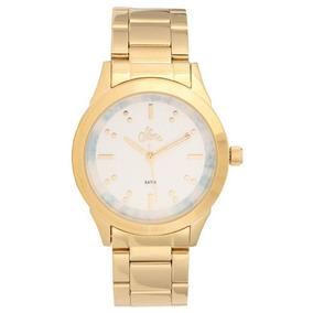 Relógio Allora Feminino Al2035fkj/k4a + Colar E Brincos