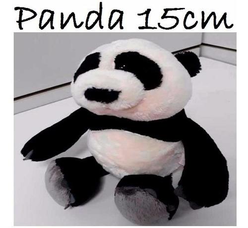 Imagem 1 de 1 de 35 Ursinhos Urso De 15cm Panda Pelúcia Plush P/ Lembrancinha