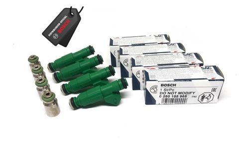 Jogo Bico Bosch 42lbs 0280155968 + Jogo Prolongadores 29mm