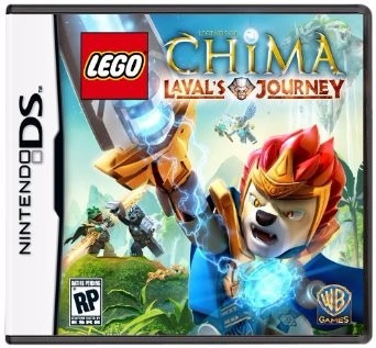 Lego Chima Lavals Jorney Nds 3ds 2ds Original Completo