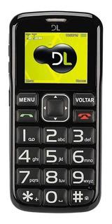 DL YC-110 Dual SIM 24 MB Preto 24 MB RAM