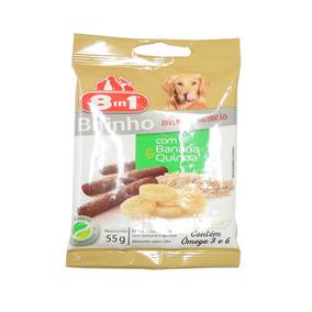 Snack 8in1 Para Cães Sabor Banana E Quinoa 55g