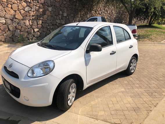 Nissan March Active Tm Abs 2018 Blanco