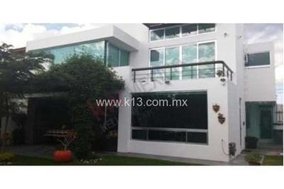 Residencia En Renta Amueblada, Amplio Jardín, Villas Del Mesón Juriquilla