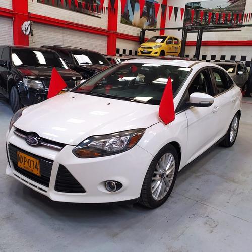 Ford Focus Titanium 2013 Blanco