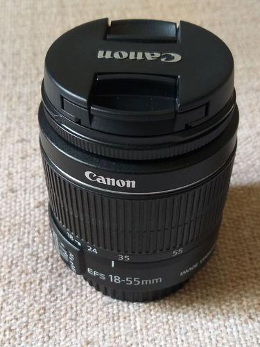 Lente Canon Ef-s 18-55mm F4-5.6 Is Stm - Novinha.