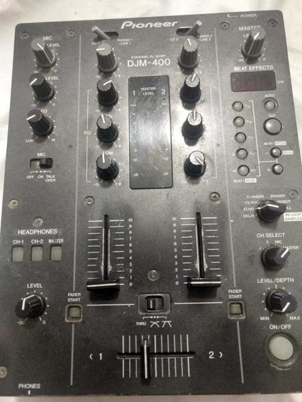 Cabina Pioneer 2 Cdj 1000 Mk3 Y Djm 400