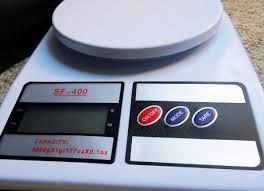 Balanza Digital Electronica De Cocina Con Pilas 0,1 A 7kg!!!