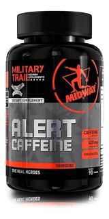 Termogênico Military Trail Alert Caffeine 90 Caps- Sem Sabor