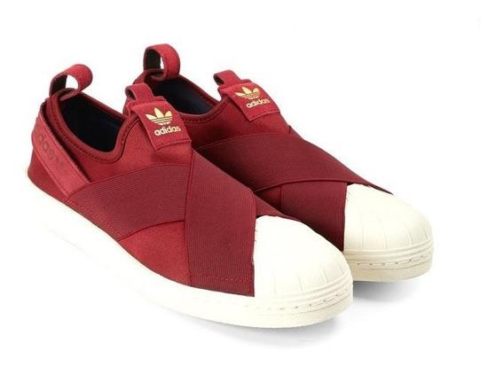 Tênis adidas Slip On Superstar Original Elástico Feminino !
