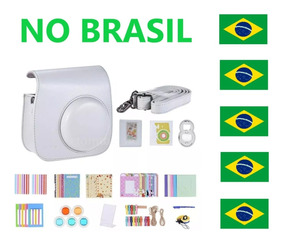 Kit 14 Em 1 Acessórios Instax Mini 8 9 Case Capa No Brasil