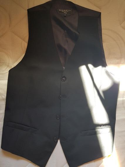 Chaleco Negro De Traje