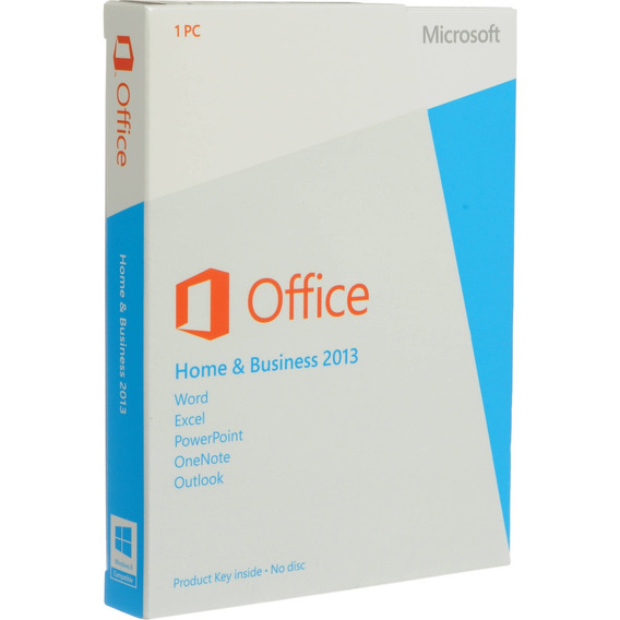 Office Home And Business 2013 Box Original - Não Lacrado