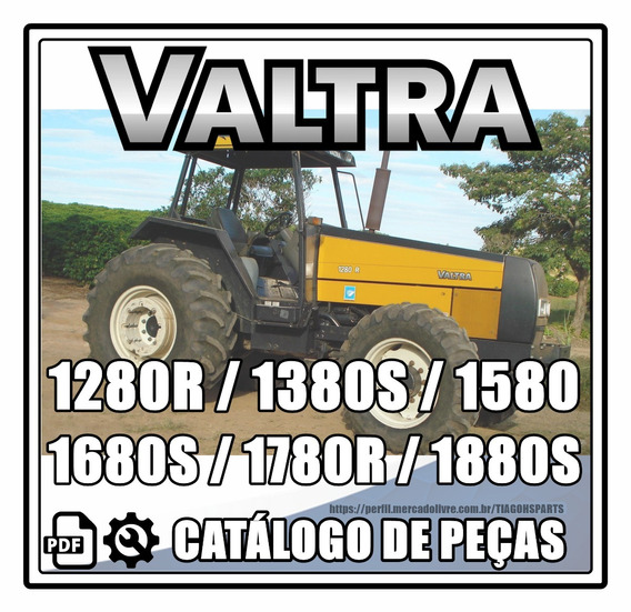 Catálogo De Peças Valtra 1280r-1380s-1580-1680s-1780r-1880s