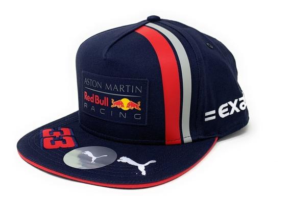 Gorra Plana Red Bull Racing 2019 F1 Max Verstappen