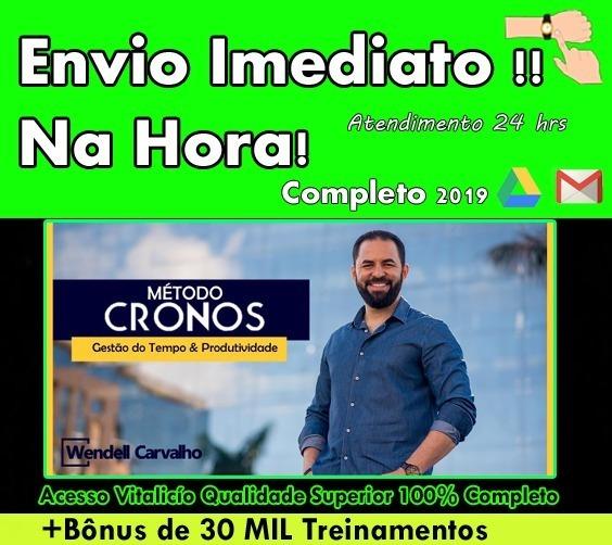 Metodo Cronos 2019 -wendell Carvalho +30mil Brindes