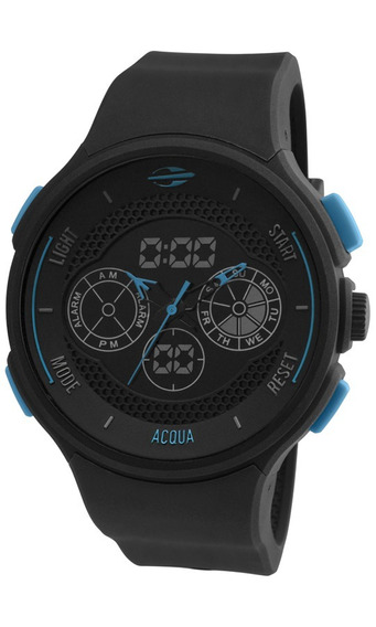 Relógio Mormaii Masculino Acqua Mo160323al/8a Negativo