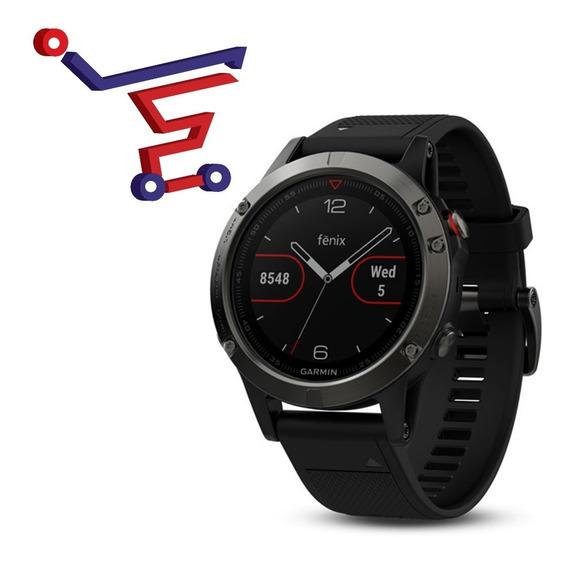 Reloj Garmin Fenix 5 Negro/47 Mm/ Ciclismo Natación/ Frecuen